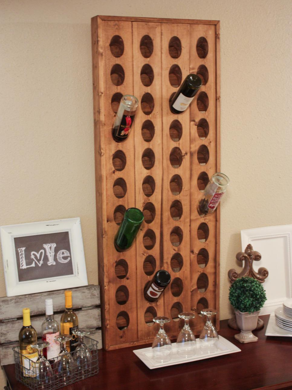 Easy Kitchen Storage 15 Creative Wine Racks And Wine Storage Ideas Hgtv