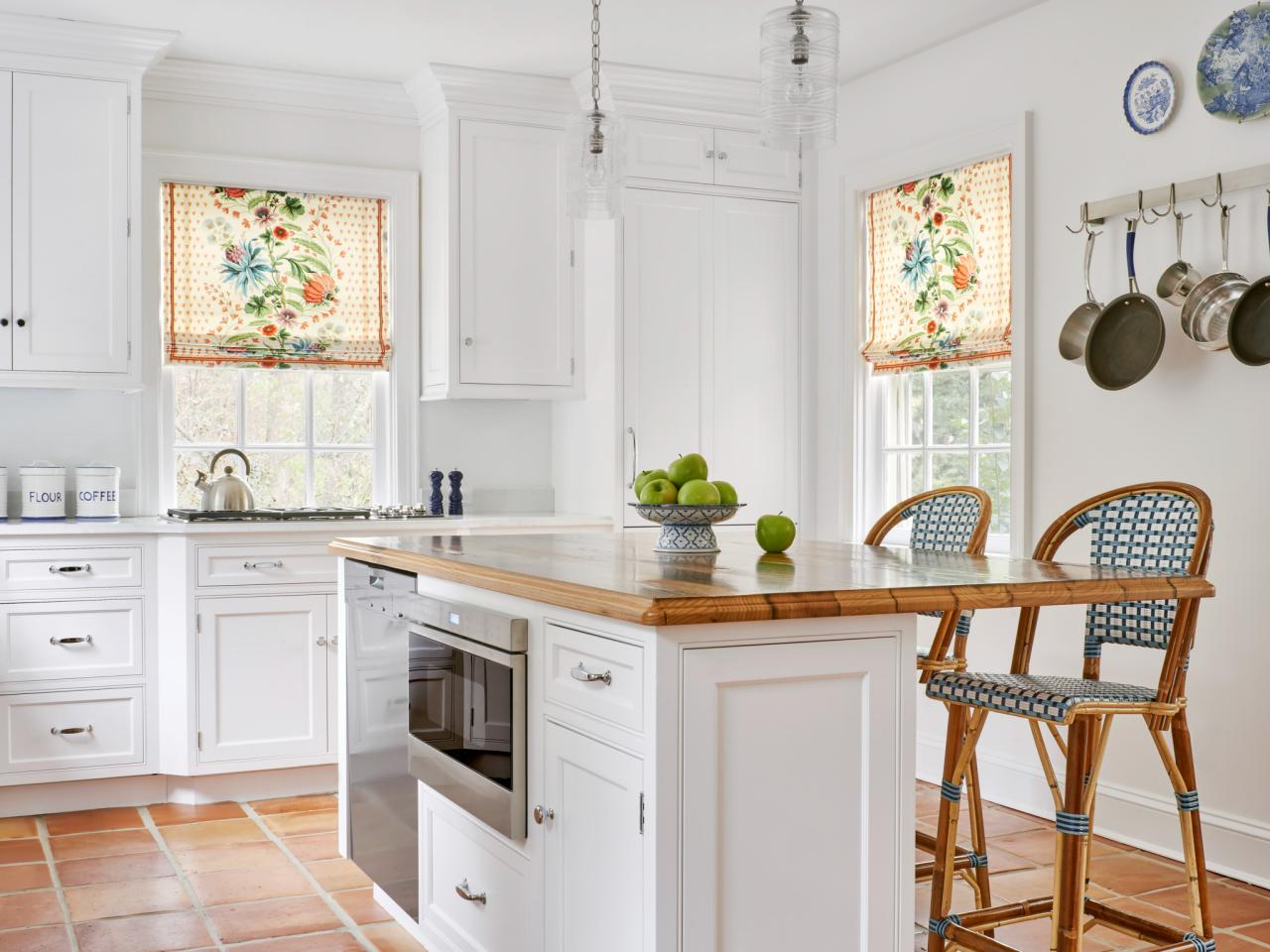Kitchen Shades Creative Kitchen Window Treatments Hgtv Pictures Ideas Hgtv