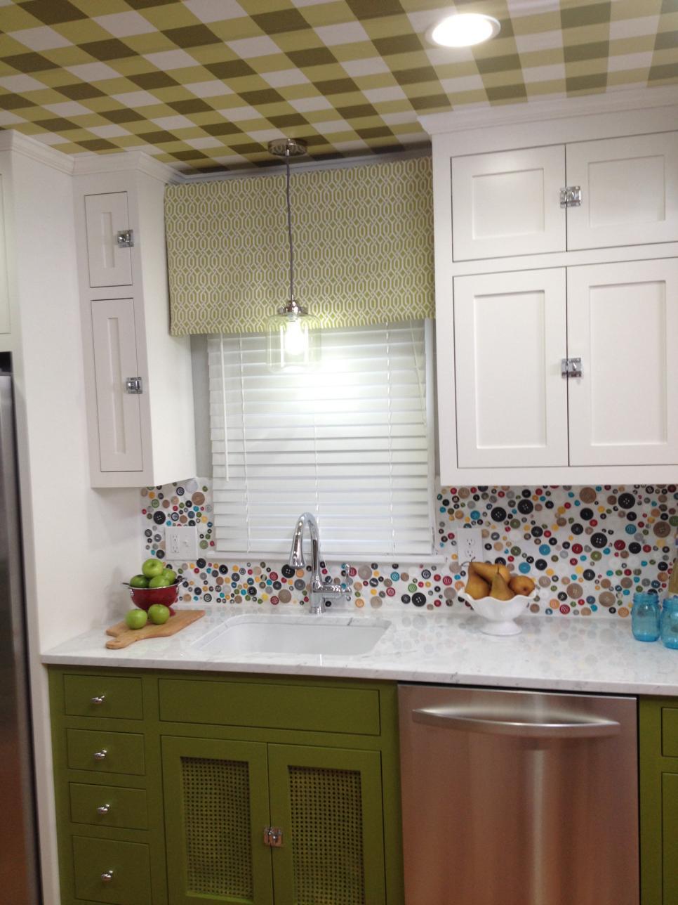 15 creative kitchen backsplash ideas hgtv kitchen creative diy kitchen backsplash ideas image 31