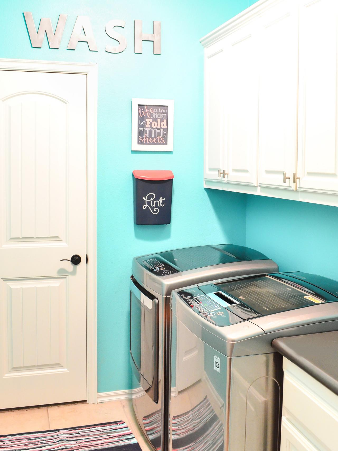 small laundry room storage ideas: pictures, options, tips & advice