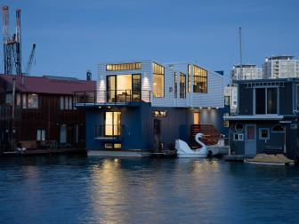 Modern Houseboat in San Francisco