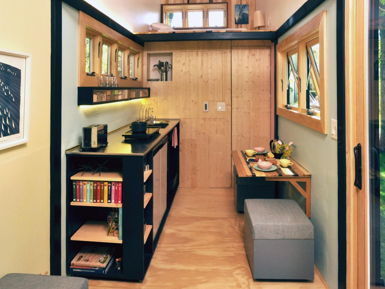 Sensational 6 Smart Storage Ideas From Tiny House Dwellers Hgtv Largest Home Design Picture Inspirations Pitcheantrous