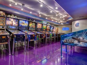 Pinball Arcade Stars in Basement Project