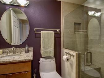 Basement Bathroom with Modern Shower