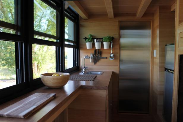 Tiny House With Window Wall