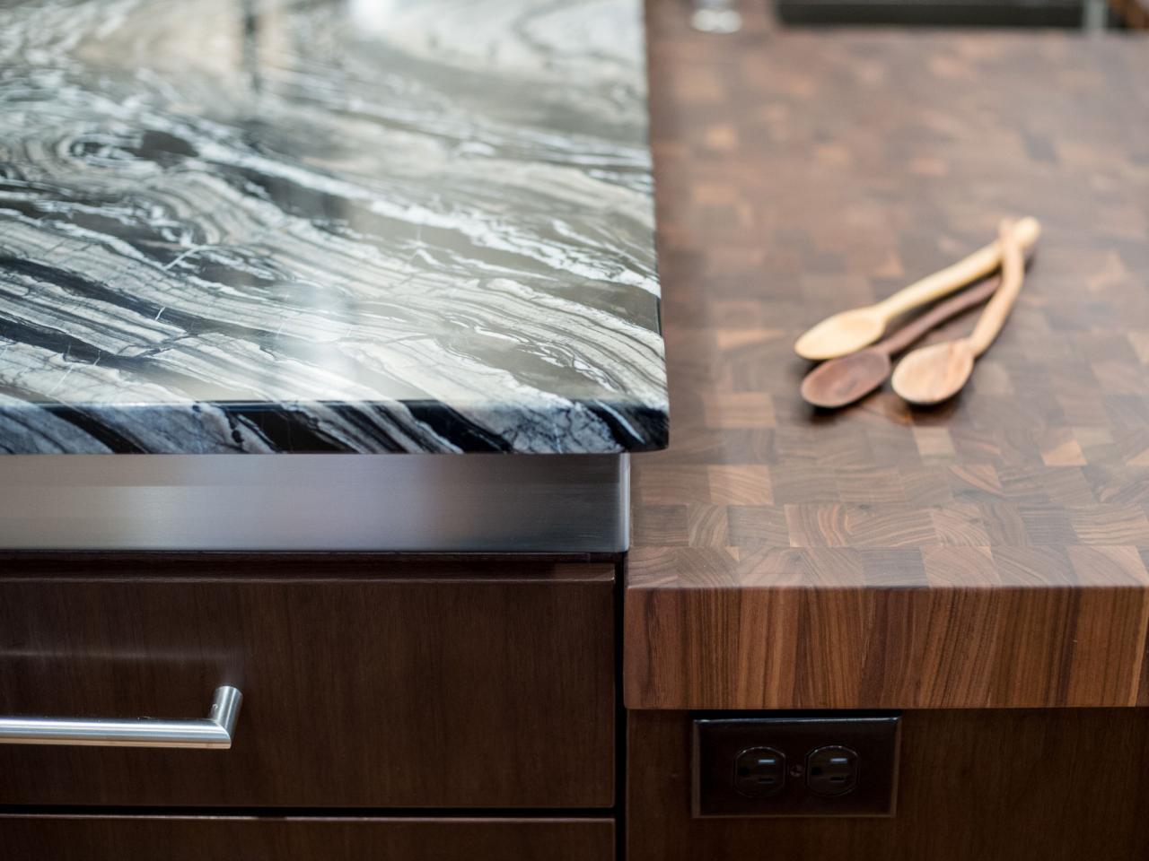 Kitchen Island Countertop kitchen island countertop considerations | hgtv