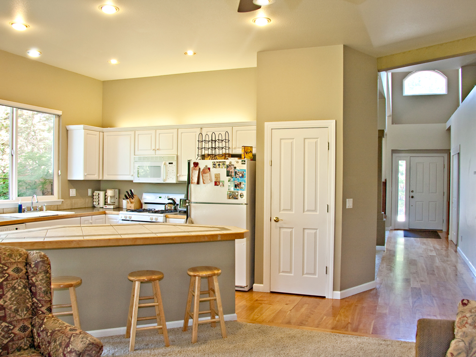 superb U Shaped Kitchen Remodel Before And After #3: Photo By: Joe Human