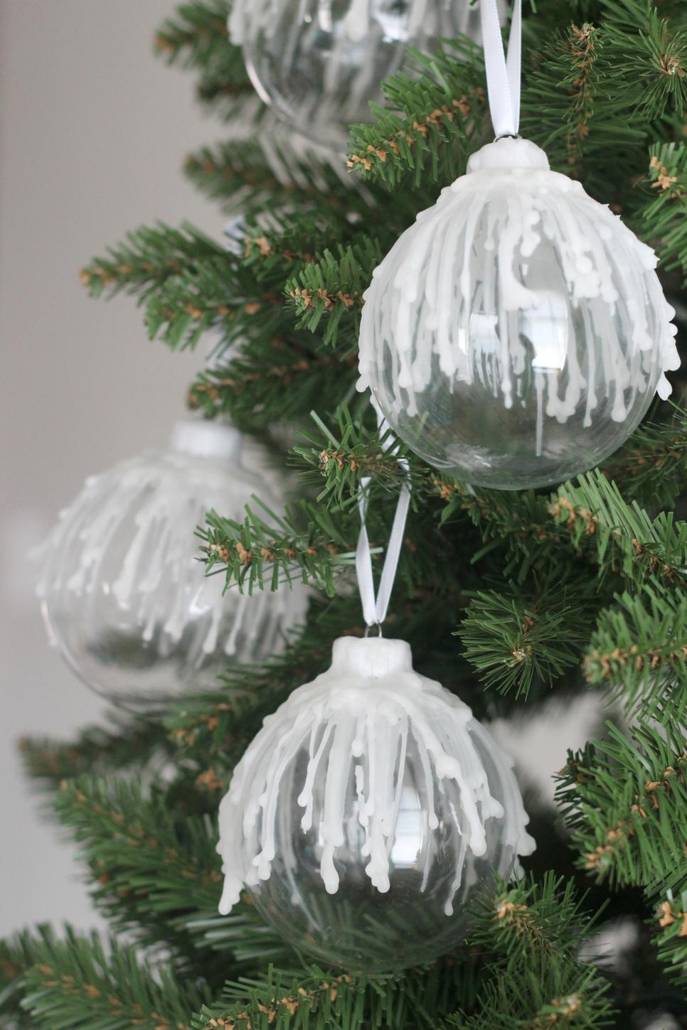 10 fun ways to dress up a glass ornament hgtv for How to design a christmas ornament