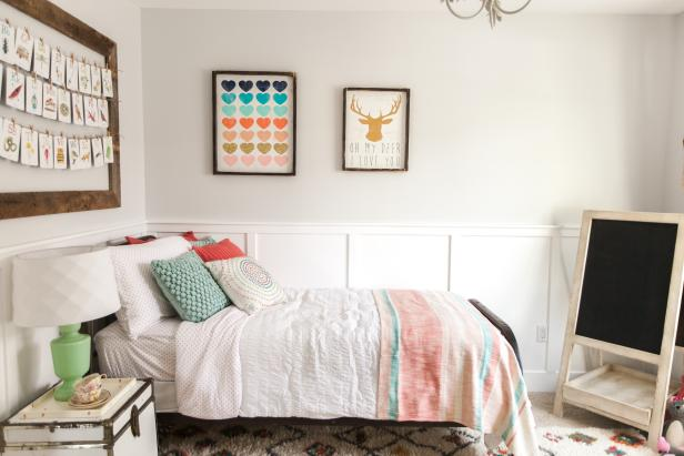 Ranch House Bedroom Makeover