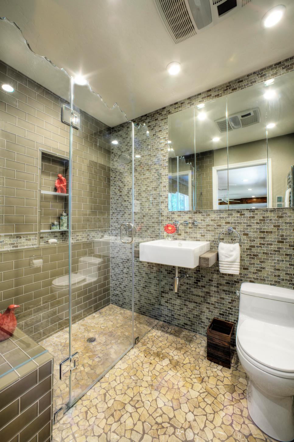 Award winning bathroom designs 2016 - Nkba Bath Trend No Threshold Showers 5 Photos