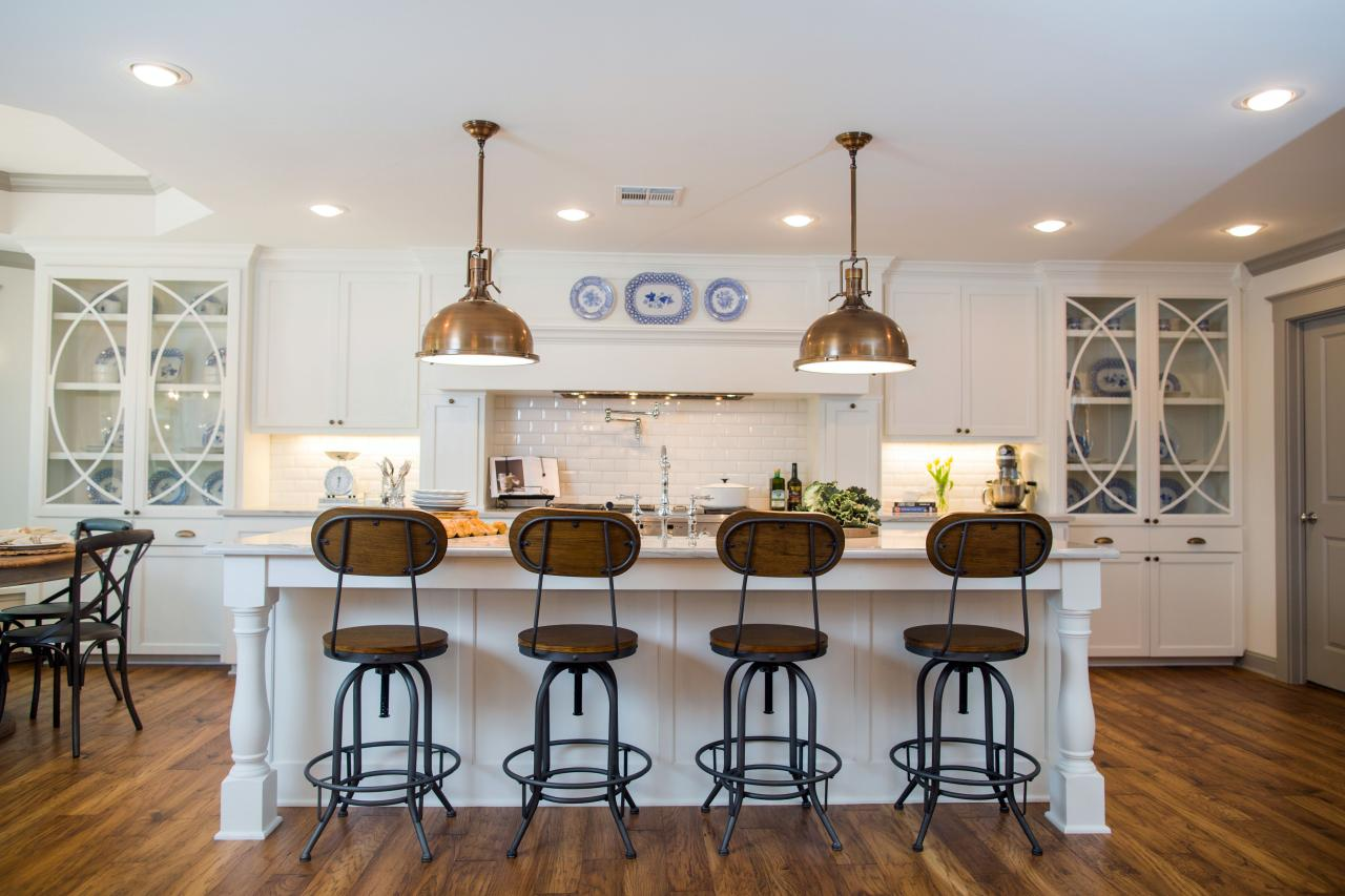 Fixer upper kitchen pendants - In The Kitchen Island Life