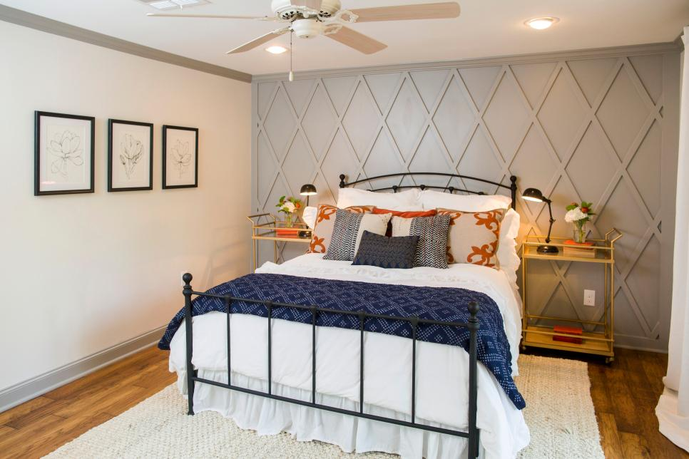 Fixer upper a big fix for a house in the woods hgtv 39 s fixer upper with chip and joanna gaines Fixer upper master bedroom pictures
