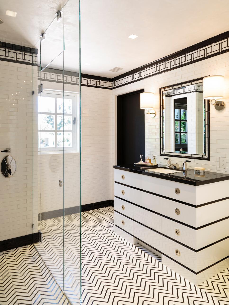 Bathroom Design Trend No Threshold Showers Hgtv