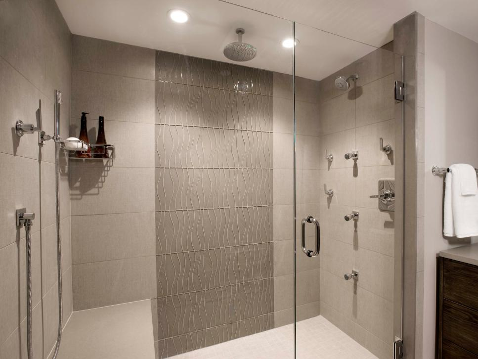 Bathroom design trend shower lighting hgtv for Bathroom lighting design