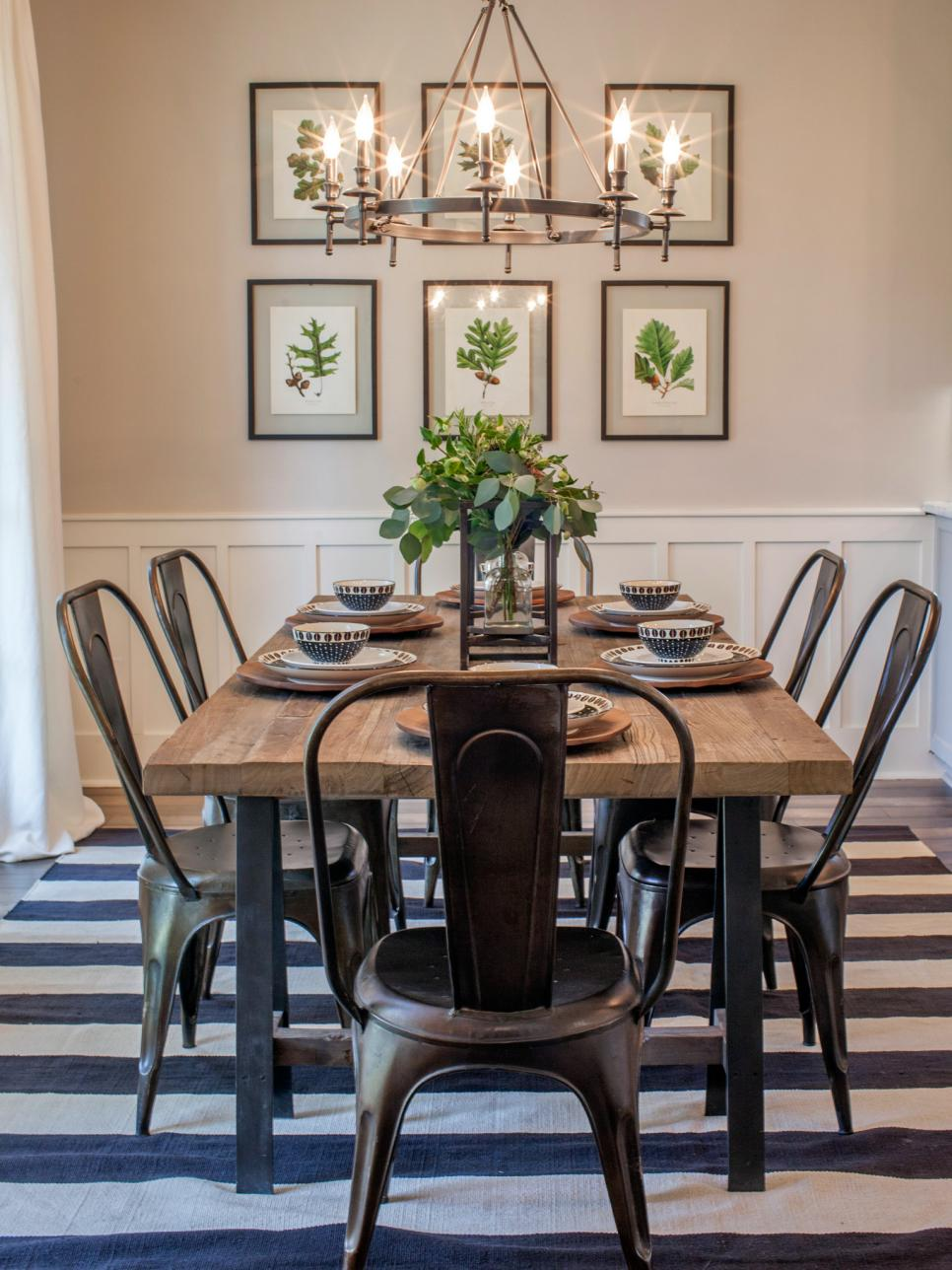 Savvy southern style my favorite fixer upper so far for Dining room table decor