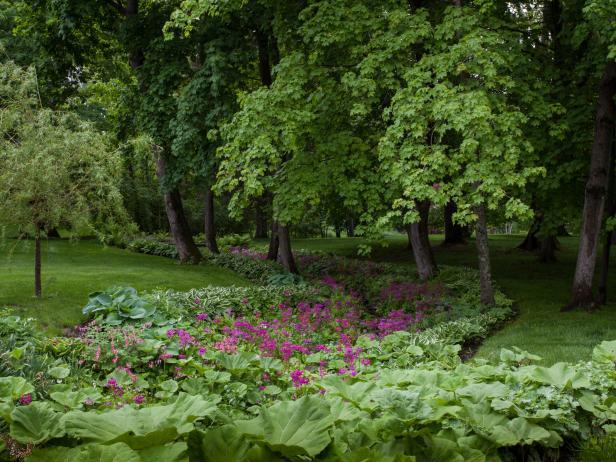 Carolyne Roehm's Shade Garden