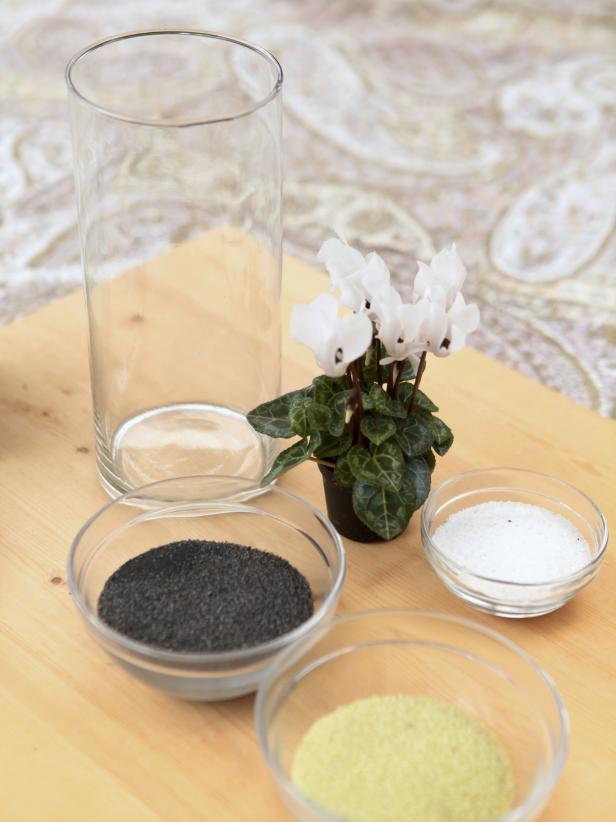how to make sand art