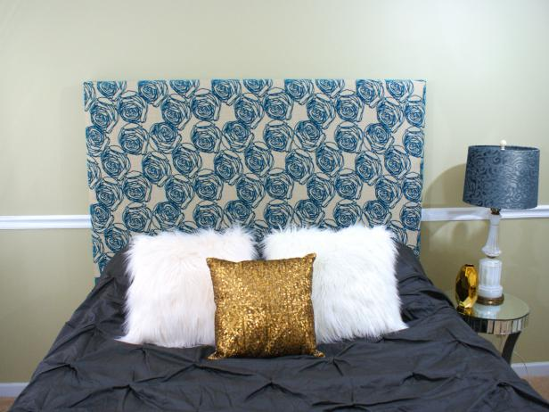 How To Upholster A Headboard For Beginners Hgtv