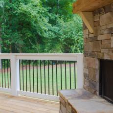 back porch railing - Porch Railing