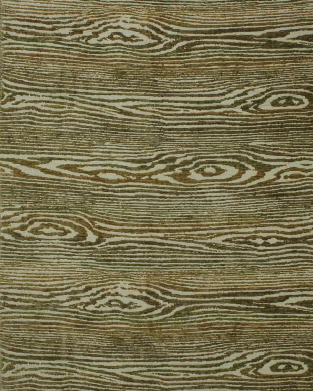 Wood Grain Rug
