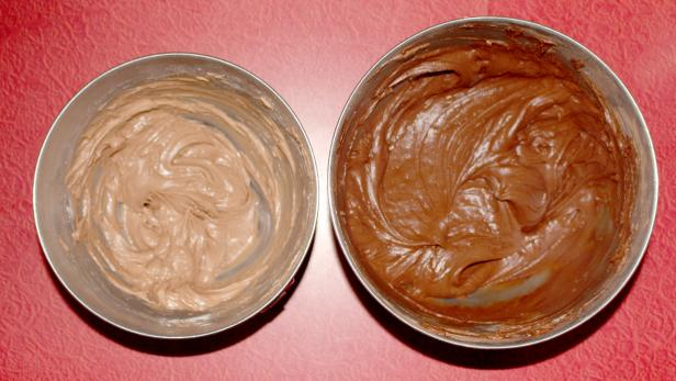 Two Kinds of Chocolate Frosting