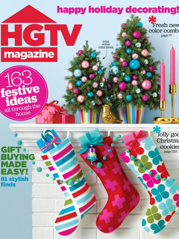 HGTV Magazine December 2015 Cover