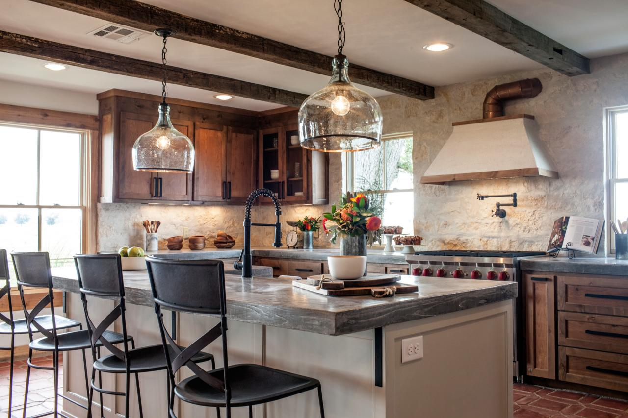 Fixer upper kitchen pendants - Kitchen After