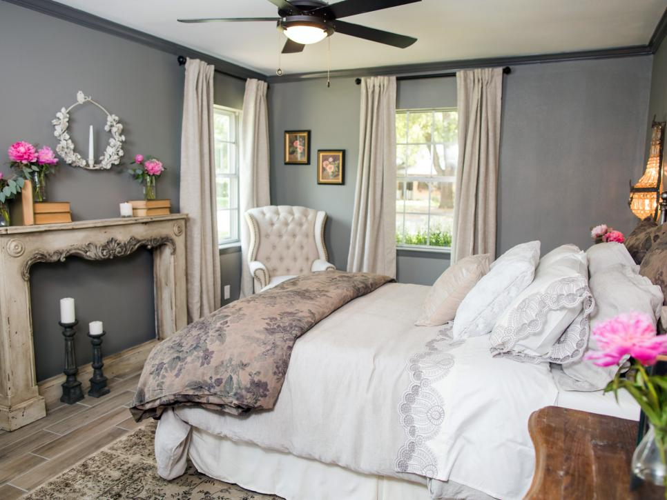Magnolia farm fixer upper farmhouse industrial en for Joanna gaines bedroom ideas