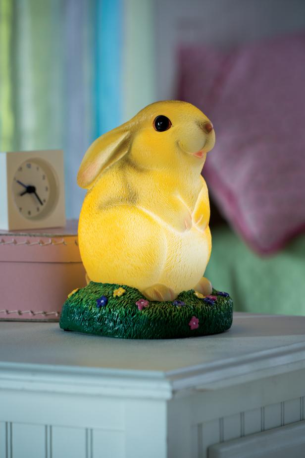 Child's Bunny Lamp