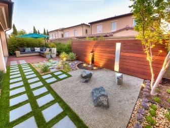 Modern California Backyard with Zen Details
