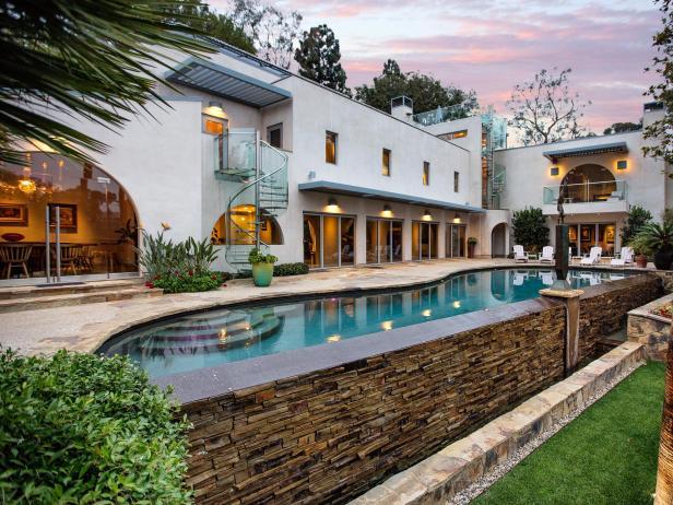 Celebrity Homes Beautiful Beach Houses Hgtv