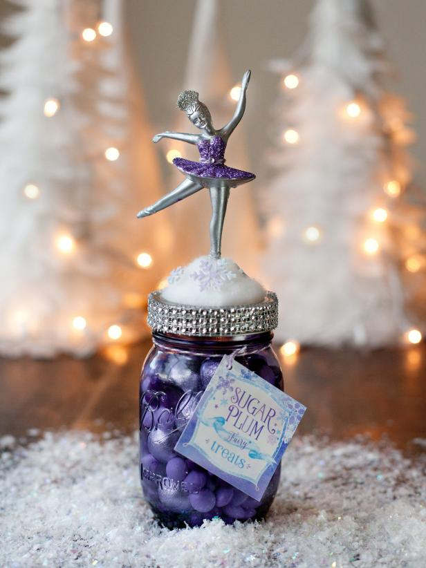 DIY Sugar Plum Fairy Jar