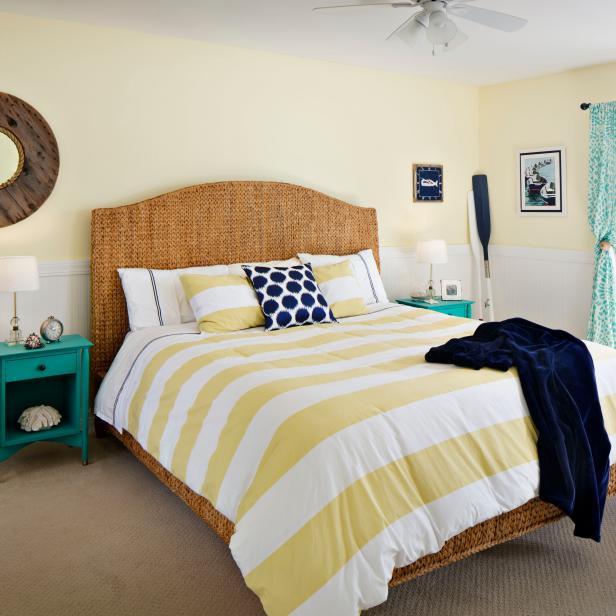 neutral coastal bedroom
