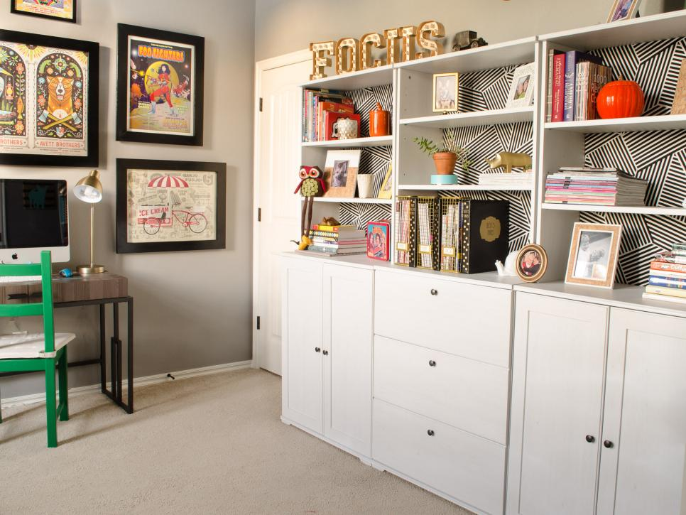 12 home office organization ideas hgtv Organizing home