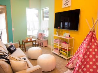 Creative and Colorful Playroom