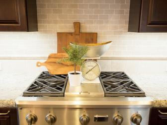 Transitional Kitchen with Subway Tile Backsplash