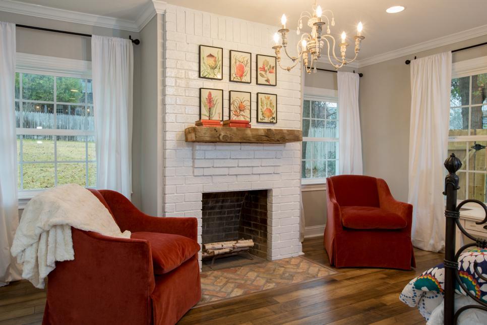 20 bedroom fireplace designs hgtv