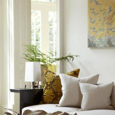 Neutral Asian Inspired Living Room Is Calm, Airy Part 97
