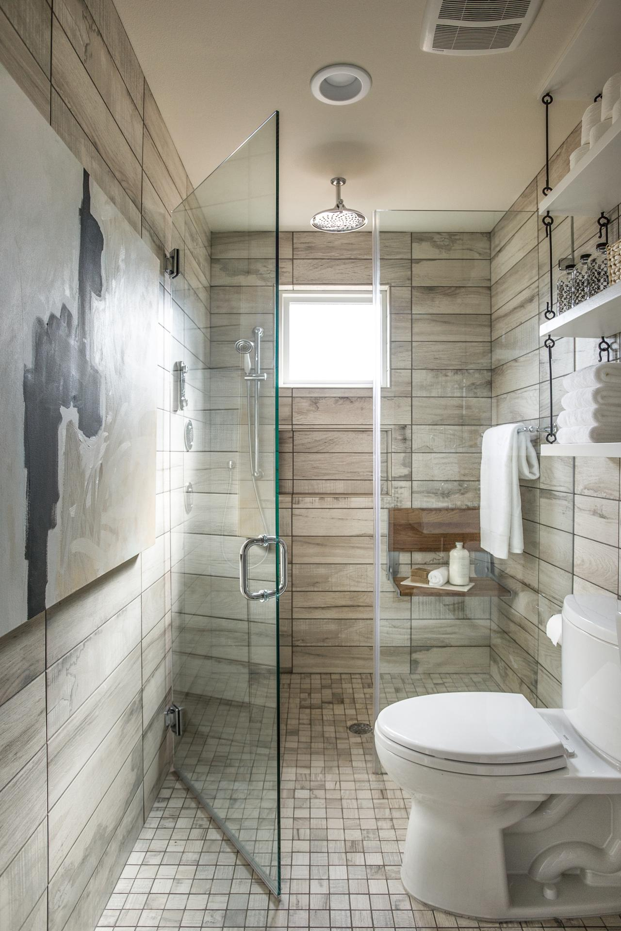 Ways To Tackle Storage In A Tiny Bathroom HGTVs Decorating - Small bathroom windows for small bathroom ideas