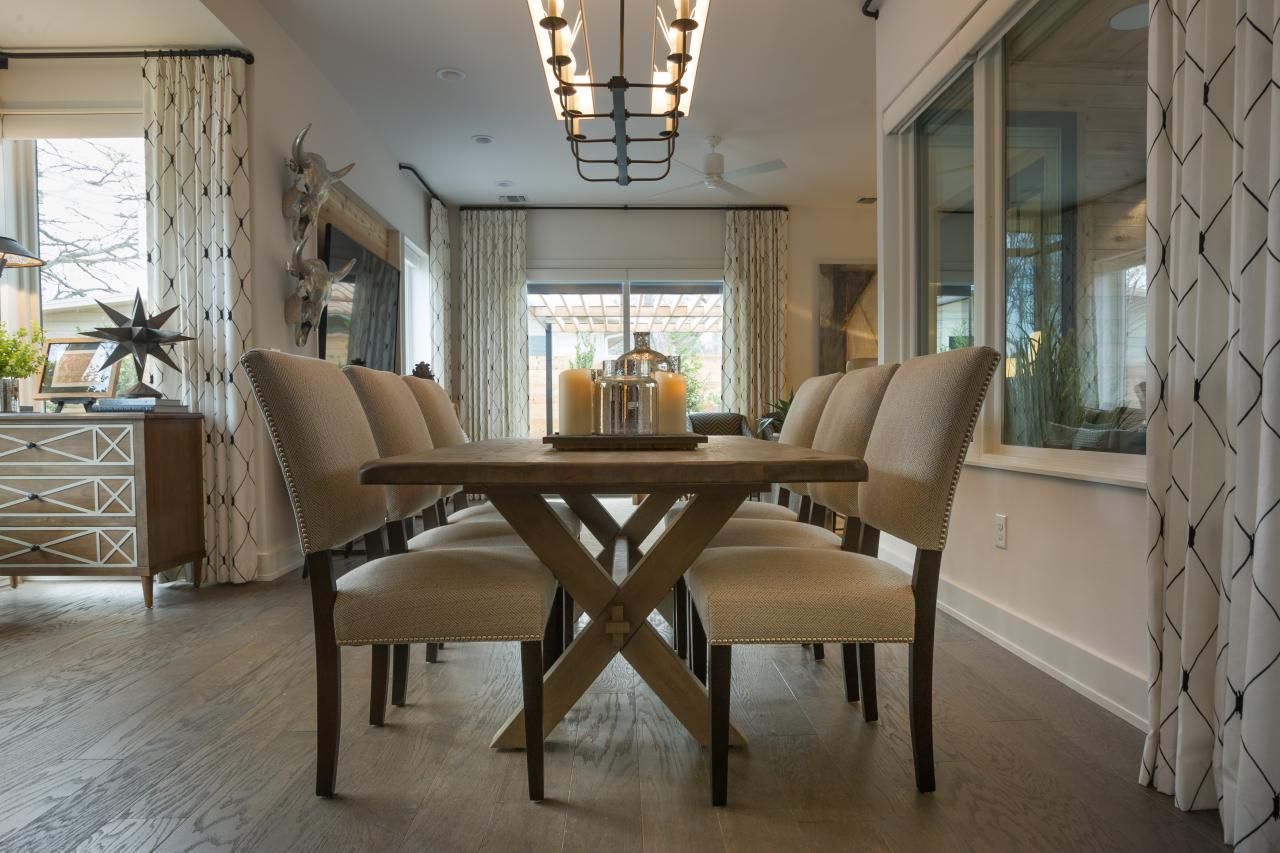 Photo page hgtv - Latest dining room trends to follow ...