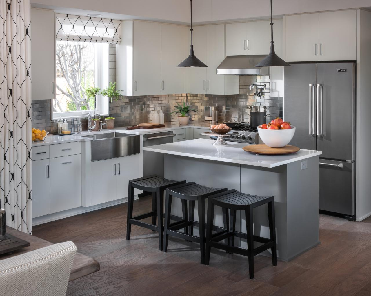 Pictures of the hgtv smart home 2015 kitchen hgtv smart for Hgtv kitchens
