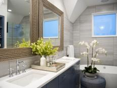 Master Bathroom With Natural Light