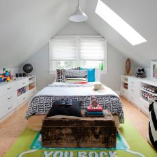 Teen Room with Lots of Personality and Storage