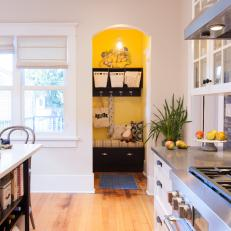 Original Features in an Updated Kitchen