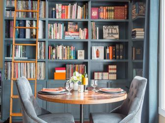 Bookish Dining Nook