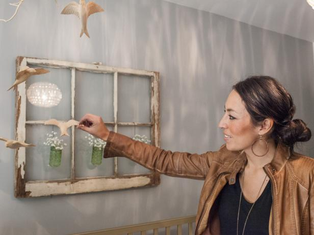 Wooden Mobile in Renovated Nursery