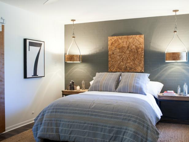 Midcentury Modern Bedroom From HGTV's Fixer Upper