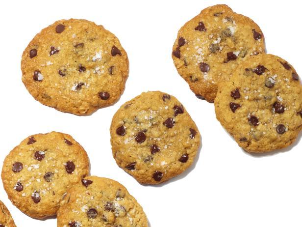David Bromstad's Chocolate Chip Sea Salt Cookies