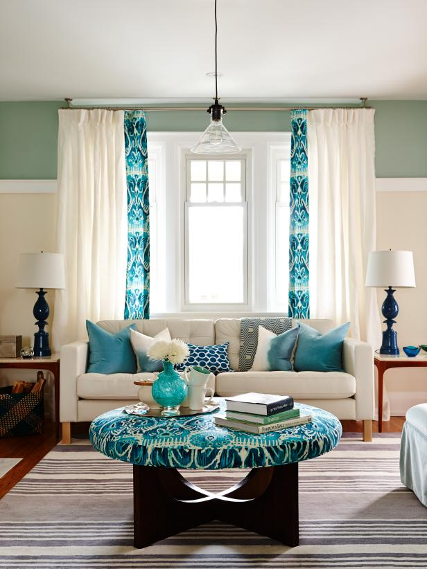 Small Living Rooms Decorating Hgtv: 20+ Colorful Living Rooms To Copy