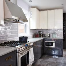 Chic and Contemporary Kitchen From Sarah Sees Potential